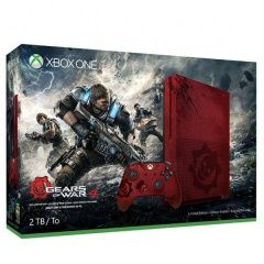 Игровая приставка Microsoft Xbox One S 2Tb Eur Red (Красный) Gears of War 4 Limited Edition Microsoft Xbox One